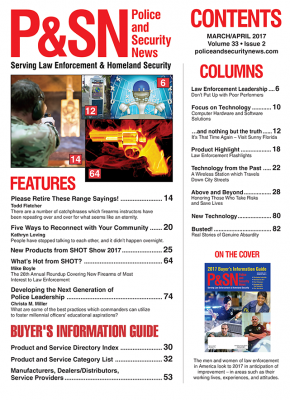 March April 2017 Table of Contents