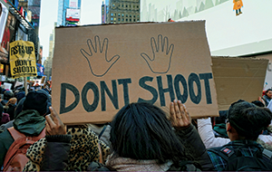 Don't Shoot Sign