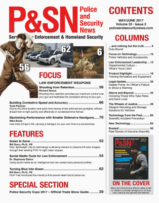 May June 2017 Police and Security News Table of Contents
