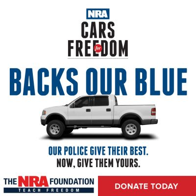 NRA Cars Freedom Logo