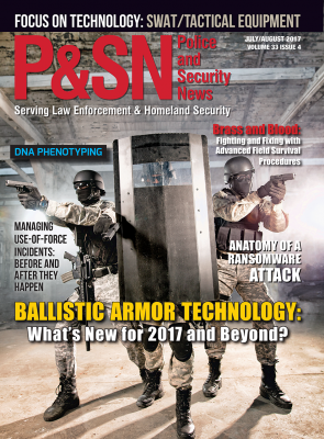 Police and Security News July August Issue