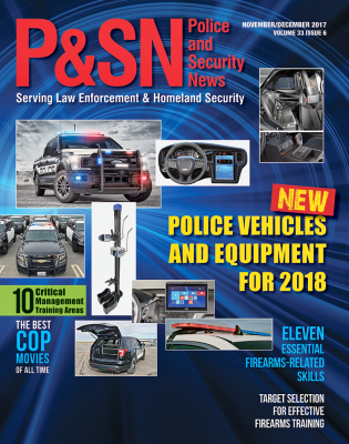 Police and Security News Cover November/December 2017 Issue