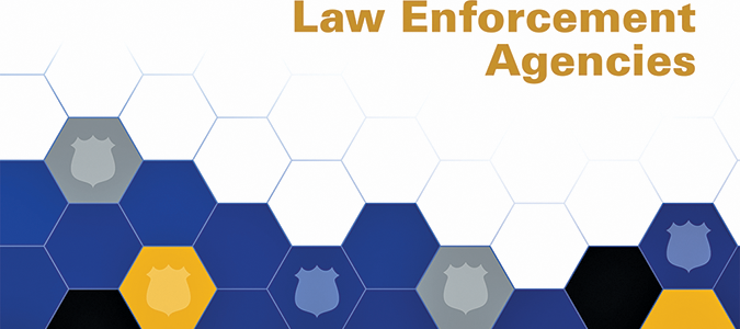 law agencies Law enforcement agencies listed in this directory are departments which report offense and arrest information to the division of criminal justice services under the uniform crime reporting or incident based reporting programs.