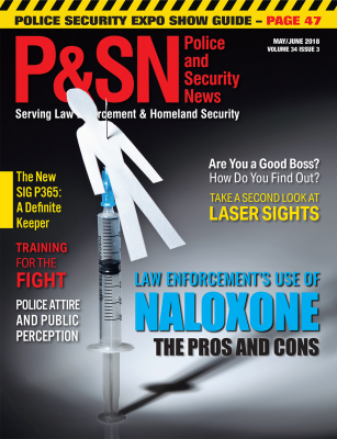 Police and Security News May June Cover