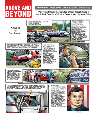 Above and beyond Monthly Comic