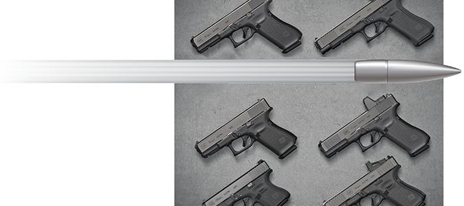 Glock hand guns