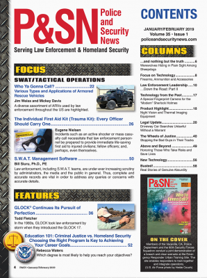 Table of Contents Jan/Feb P&SN