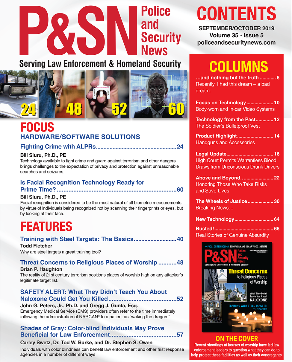 Sept Oct 2019 table of contents