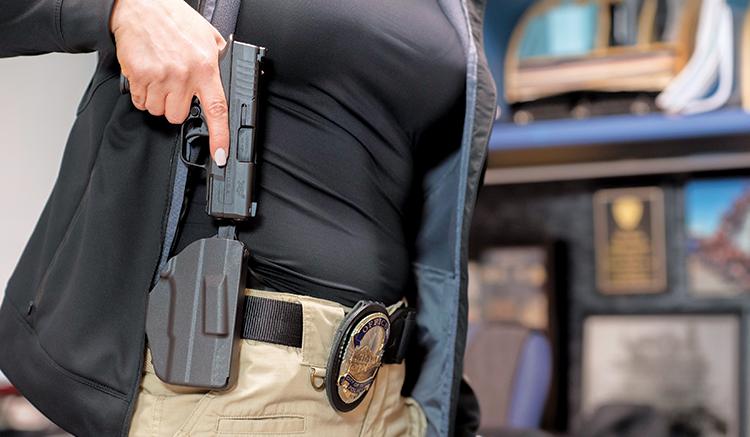 Tactical Hidden Underarm gun Holster Pouch Bag  Tactical Police Security CCW