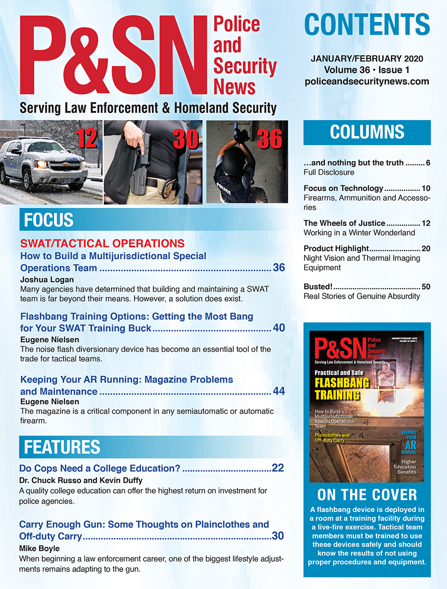 Jan/Feb Table of Contents