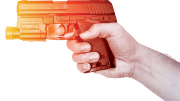 Plastic Gun Illustration for Shot Show Article