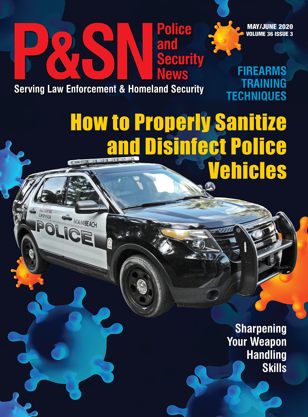 May June Cover of Police and Security News