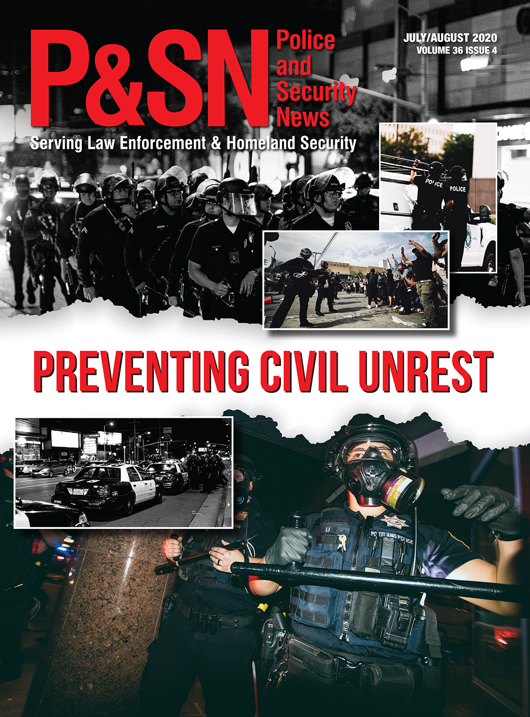 Police and Security News Print Cover